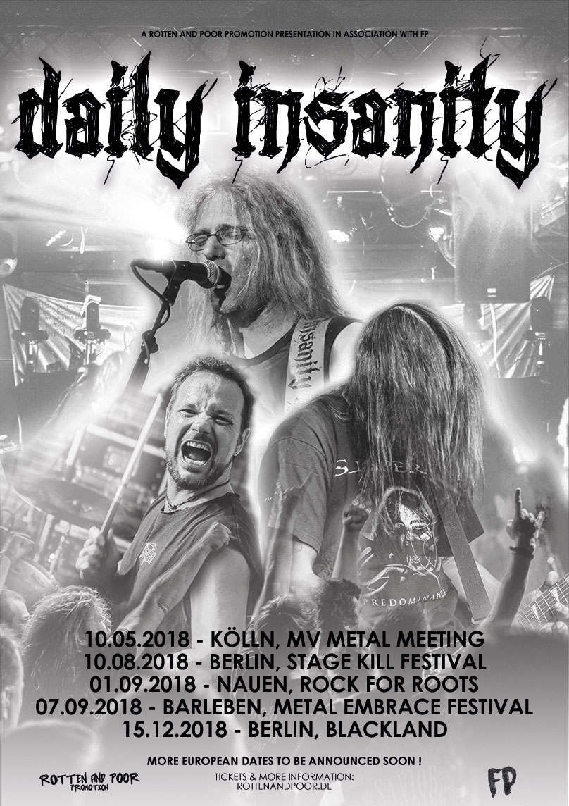 DAILY INSANITY – arbeiten an erster EP !
