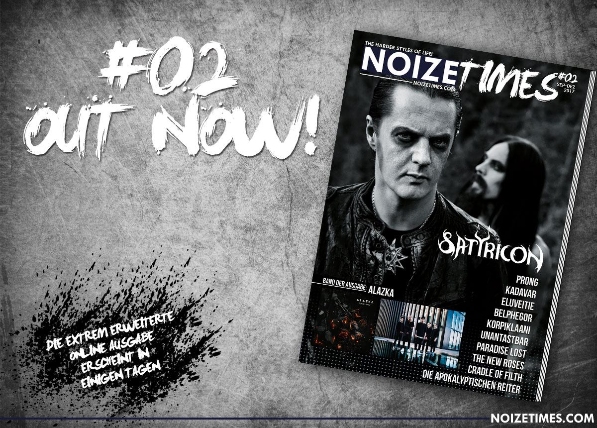 NOIZETIMES #02 - OUT NOW!!!