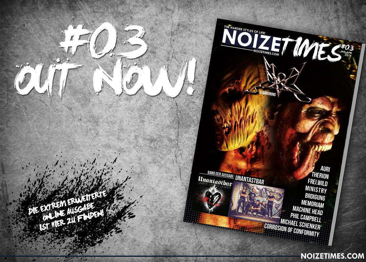 NOIZETIMES #03 - OUT NOW!!!
