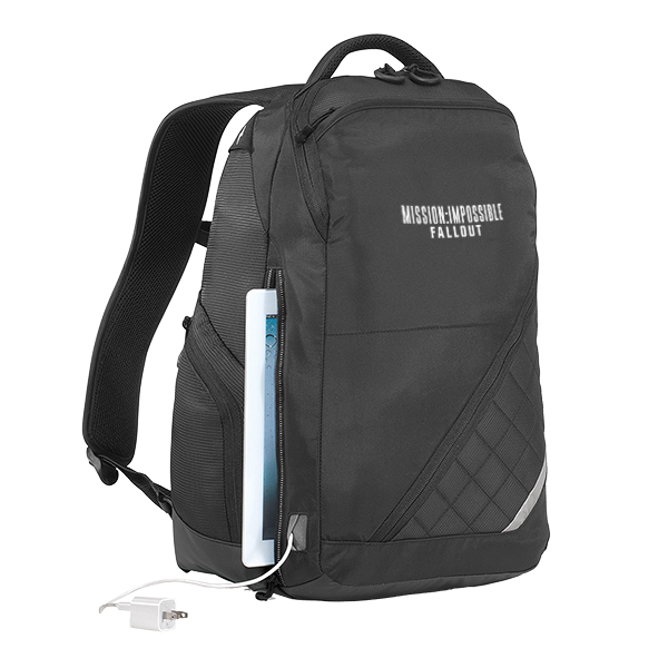 MI6 Charging Backpack front